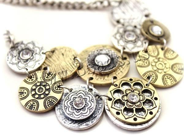 бесплатная доставка!!! ювелирные изделия сплава цинка ожерелье, тибетские украшения, с железной цепью, с 8-см extender цепь, покрытие US $60.46