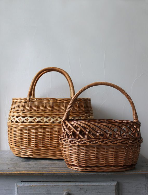 [Envelope Online Shop] A willow basket from Latvia Lisette Select