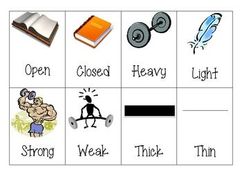 Worksheets 20 Antonyms 20 best images about synonyms and antonyms on pinterest center picture antonym cards pairs of opposites
