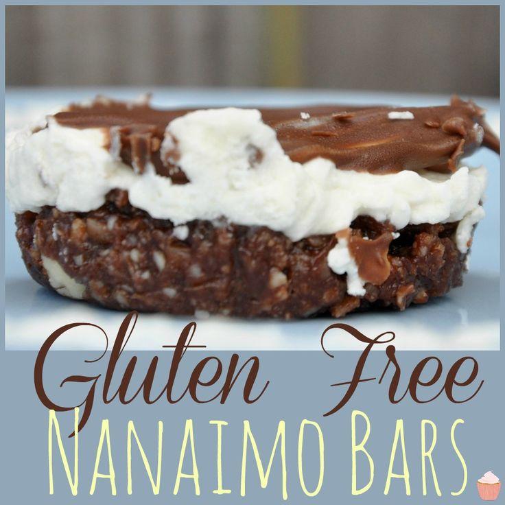 Gluten Free Nanaimo Bars