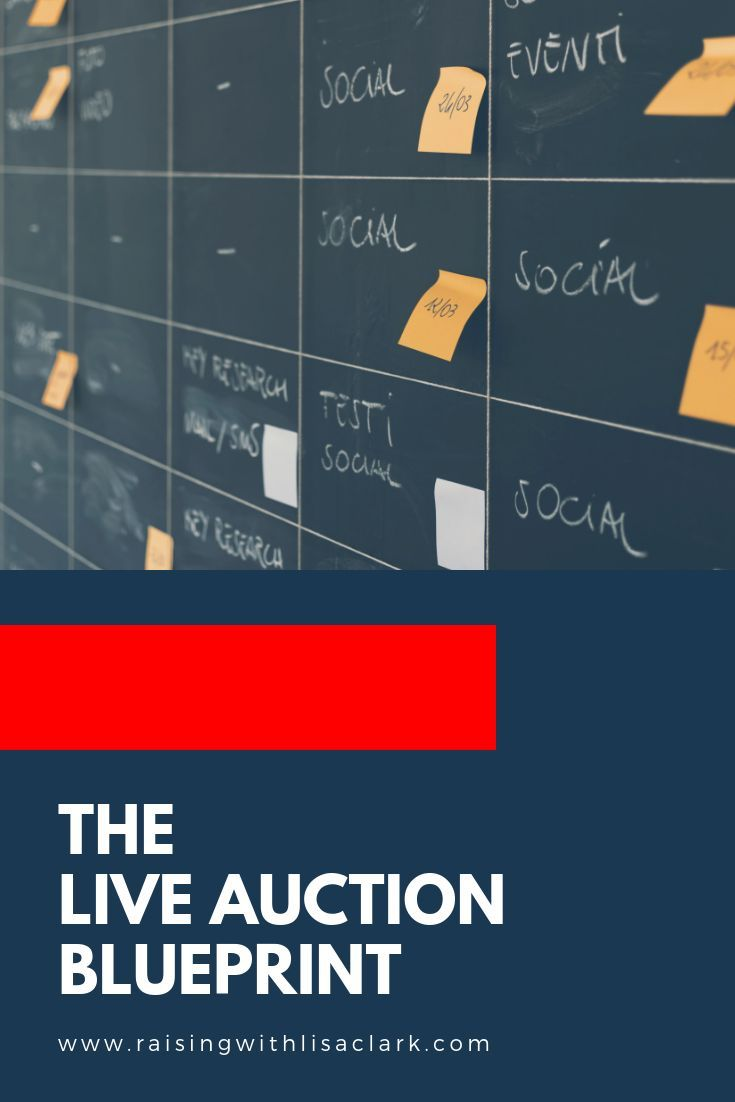 So You Have The Auction All Planned You Ve Followed The Steps In My Last Blog Post The Live Auctio In 2020 Fundraising Event Planning Auction Fundraiser Fundraising