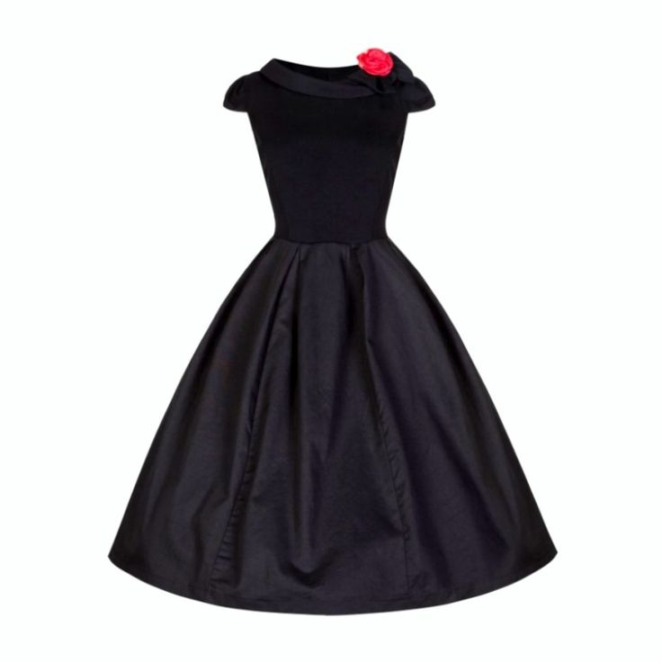 50% off / Trixie corsage dress   pin up style clothing, vintage style dresses