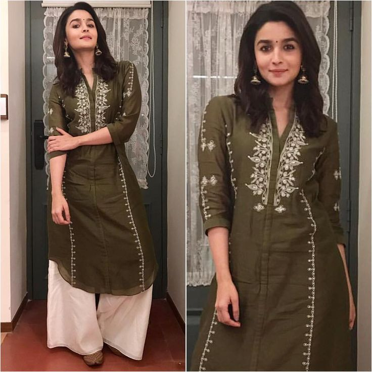 "1,138 Likes, 2 Comments - A Fashionista's Diary (@afashionistasdiaries) on Instagram: ""@aliaabhatt Outfit - @ampmfashions Earrings - @curiocottagejewelry Styled by - @stylebyami…"""