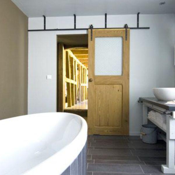 1000 id es sur le th me portes coulissantes de salle de bains sur pinterest - Salle de bain porte coulissante ...