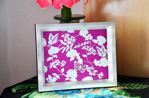 Handcut Papercut // Gift for Mum // Gift for Sister // Gift for Her // Free Personalization // Mothers Day #Housewares  #WallDecor #GiftforMom  #GiftforMum  #GiftforSister  #FullyPersonalized  #MothersDay  #FloralDecor #HandcutPapercut  #GiftforHer  #HomeDecor  #PaperGoods  #Christmasforher  #BridalPartyGift  #OriginalArt