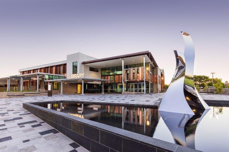 New Toowoomba City Library #toowoombaregion #architecture