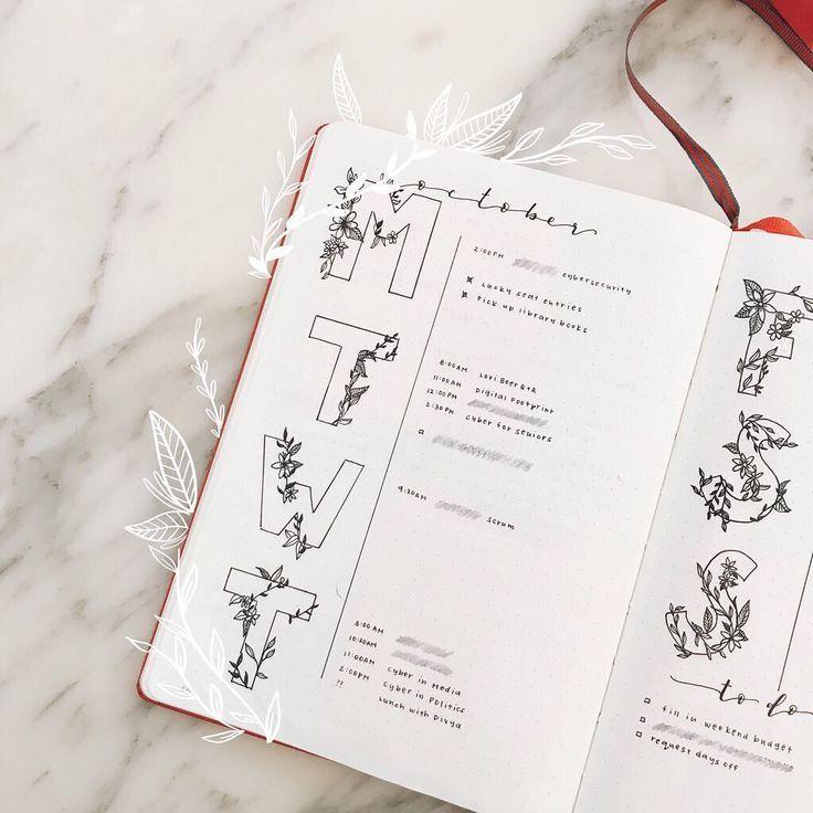 19 minimal bullet journals to follow in 2019 | MIN…