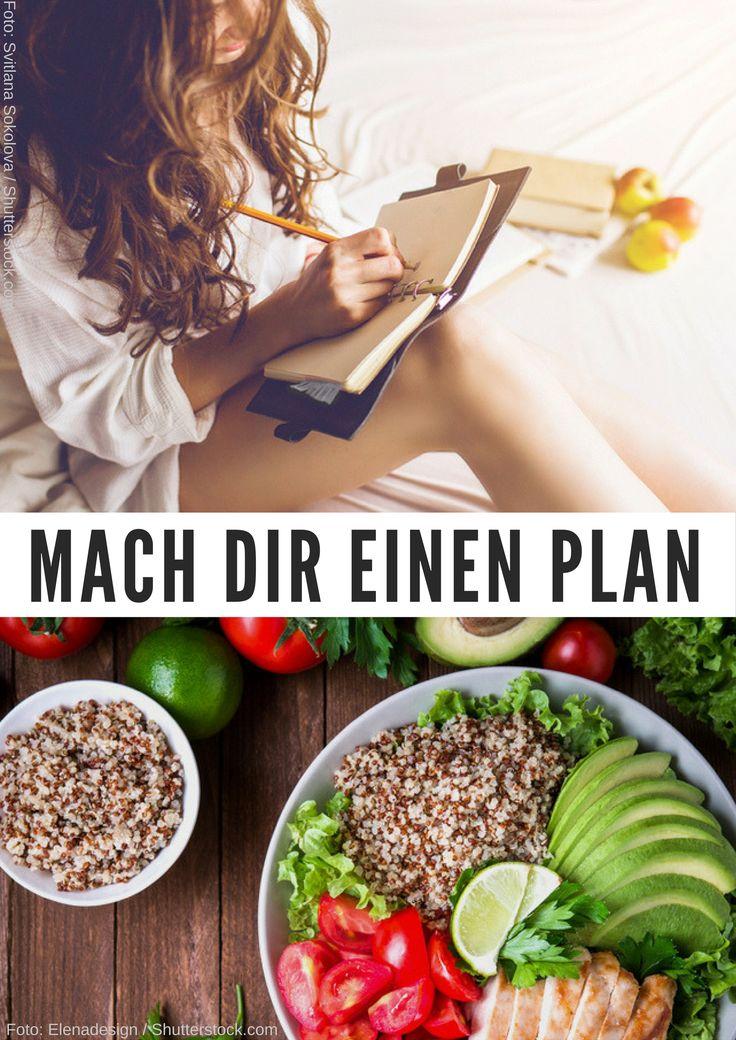 Du willst abnehmen, Muskeln aufbauen oder deinen Körper straffen? Ein Ernährungsplan kann dich auf dem Weg an dein Ziel unterstützen. So erstellst du dir deinen eigenen Ernährungsplan