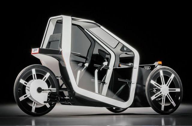 El Audi 'Fórmula Zero'  es un nuevo medio de transporte para un futuro estilo de vida