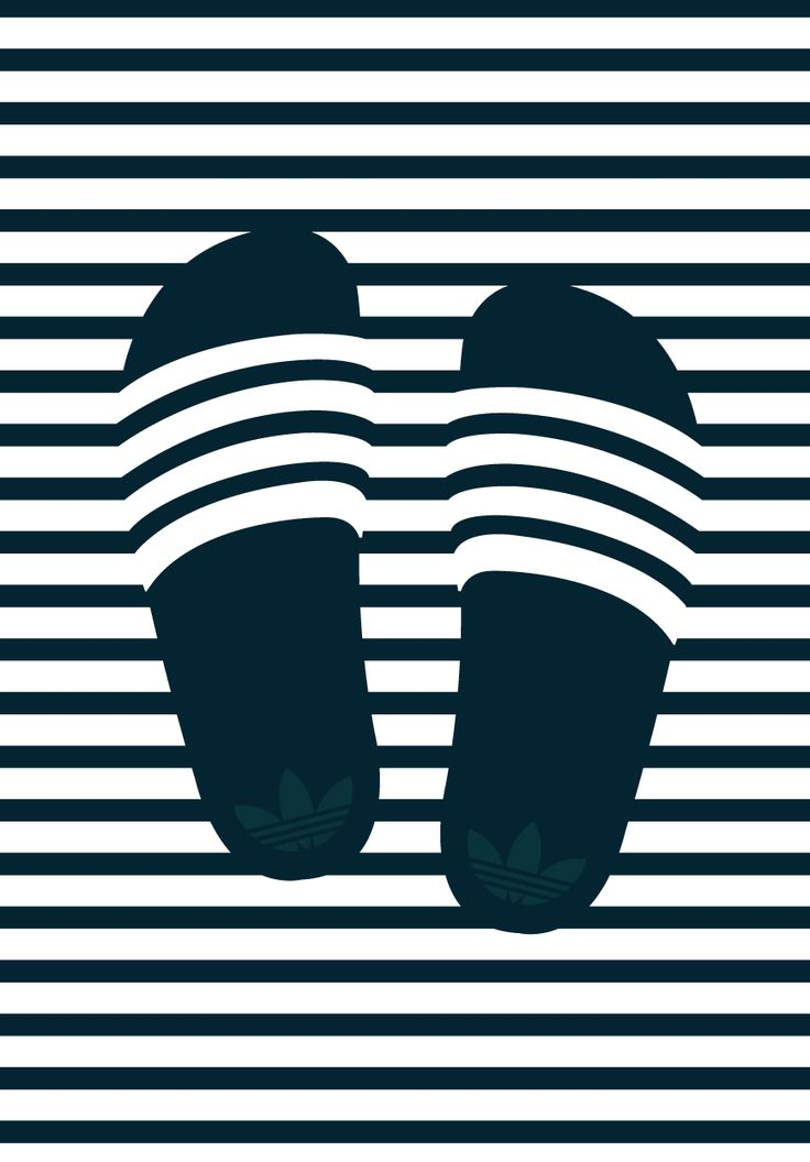 STRIPES © Sneakwalker 2016 Adidas Adilette. A tribut.