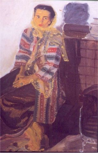S. Sudjojono - Rose Pandanwangi