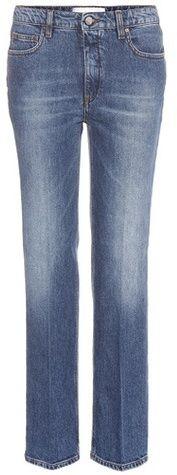Victoria Beckham Denim Column Leg Jeans