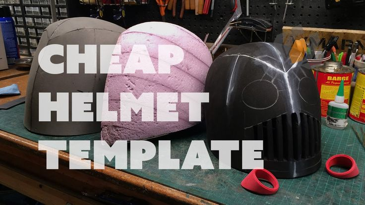 Prop: Live from the Shop - Making a Cheap Helmet Template