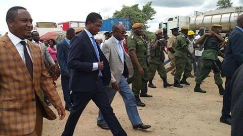 WE ARE NOT READY TO RELEASE HICHILEMA THIS YEARS, EDGAR LUNGU TELLS COPPERBELT PF.  President Edgar Lungu told copperbelt youths that his government is not reday to release Hakainde Hichilema Leader of the United Party for National Development this Year.  And Copperblet youths wondered why the head of state was bragging of not releasing hichilema this year and how it will help the party and people suffering.  Mr. Lungu said Hichilema is in jail because he was the most indicipline individual…