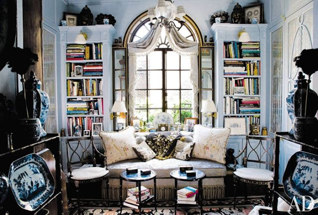 Creative Ideas for Making Your Place for Reading More Convenient: Most beautiful houses in the world