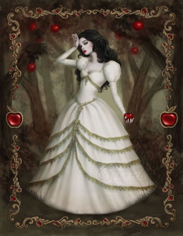 Snow White by Enamorte on DeviantArt http://enamorte.deviantart.com/art/Snow-White-535663216