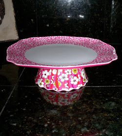 The Exchange: Crafty (and cheap) cake stands and a recipe for yummy Lemon Blossoms..