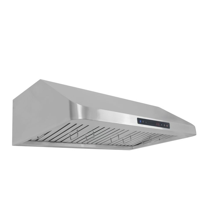 Cosmo COS-QS90 36-inch 900 CFM Ducted Under Cabinet Stainless Steel (Silver) Range Hood (36)