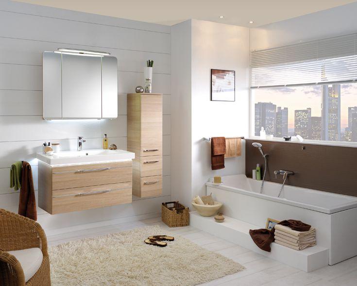 25 pinterest - Salle de bain blanc et bois ...