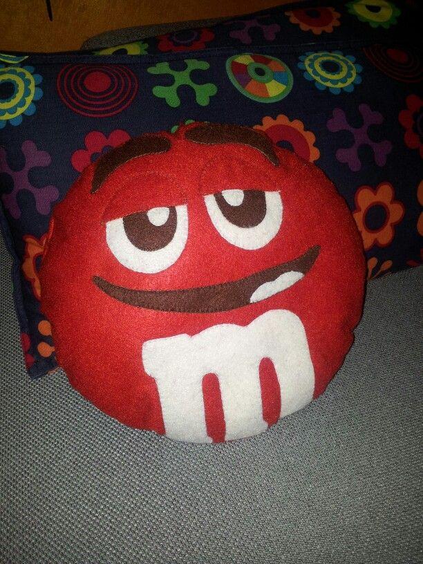 Cuscino M&M's