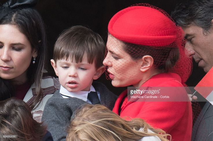 News Photo : Charlotte Casiraghi and his son Raphael Casiraghi...