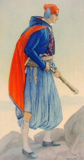 #70 - Man's Town Costume (Aegean Islands, Spetsai)