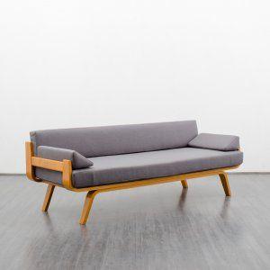 Sofas 1950s bentwood sofa ash reupholstered karlsruhe for Sofa karlsruhe