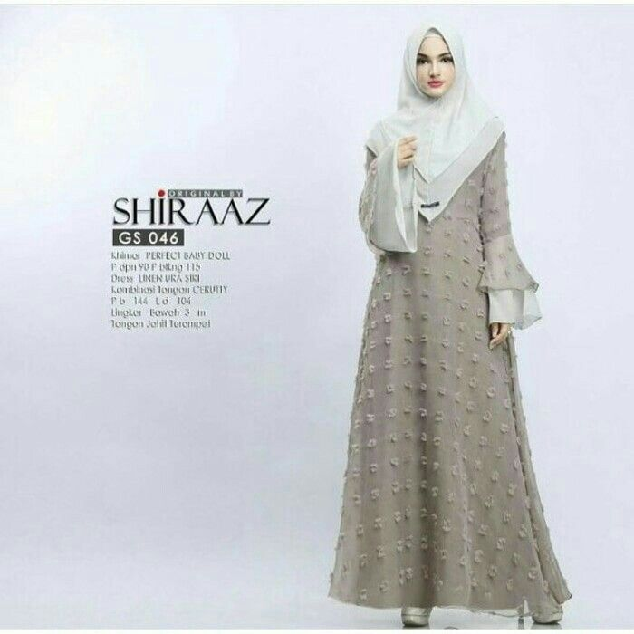 Fn Shiraaz dress Rp. 160.000 include : maxy + khimar material : wolfice mix rubiah size : allsize fit L  Informasi dan pemesanan hubungi kami SMS/WA +628129936504 atau www.ummigallery.com  Happy shopping   #jilbab #jilbabbaru #jilbabpesta #jilbabmodern #jilbabsyari #jilbabmurah #jilbabonline #hijab #Kerudung #jilbabinstan #Khimar #jilbabterbaru #jilbab2017 #jilbabkeren #jilbabmodis #bajumuslim #gamis #syari #maxidress #maxi #atasanwanita #atasanmuslim
