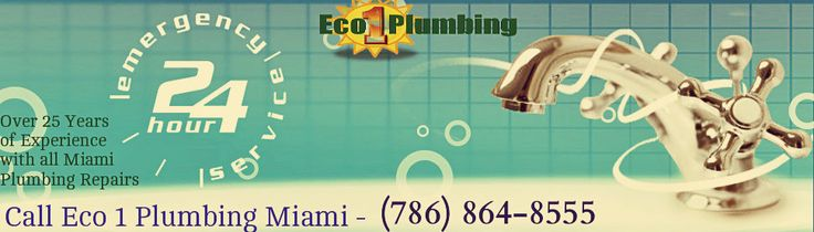 Eco 1 Plumbing Plumber's Offering 24/7 emergency plumbing service to residential and commercial throughout all of Maimi Florida areas. Our expert plumbing technicians are standing by to assist you with whatever plumbing emergency you run into, so that you don't have to stress out any longer. we've proudly provided the Miami Florida area with quality plumbing services for many years. Visit - https://eco1plumbingmiami.com/