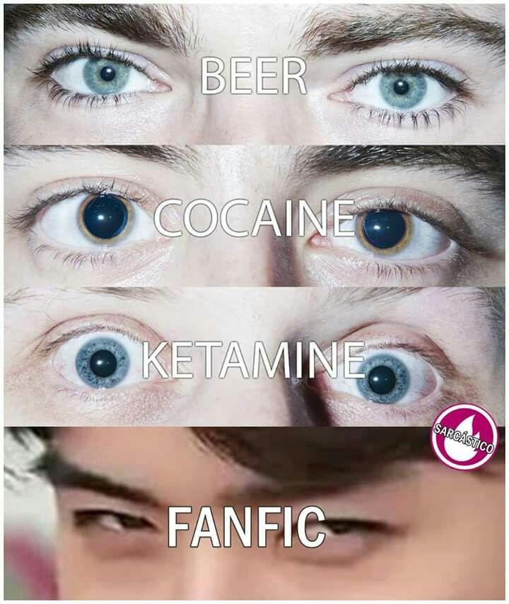 As piores drogas e seus efeitos no olhar das pessoas