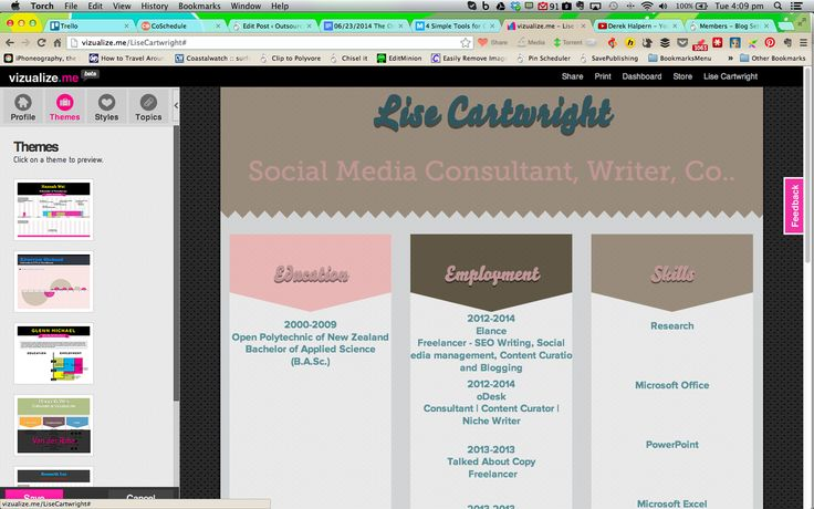 How to Create Your Own Online Resume http://www.outsourcedfreelancingsuccess.com/freelancing-tips/the-online-resume-creating-a-freelance-writing-resume #onlineresume #infographicresume