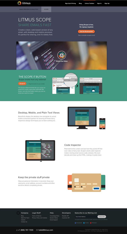 Scope homepage