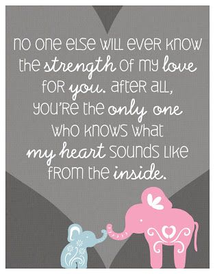 expecting daughter quotes | For the Love of baby Liam: Favorite Quotes/Poems