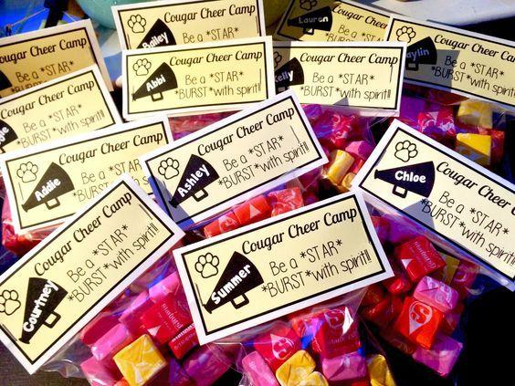 Cute Cheer Candy Gift Idea.