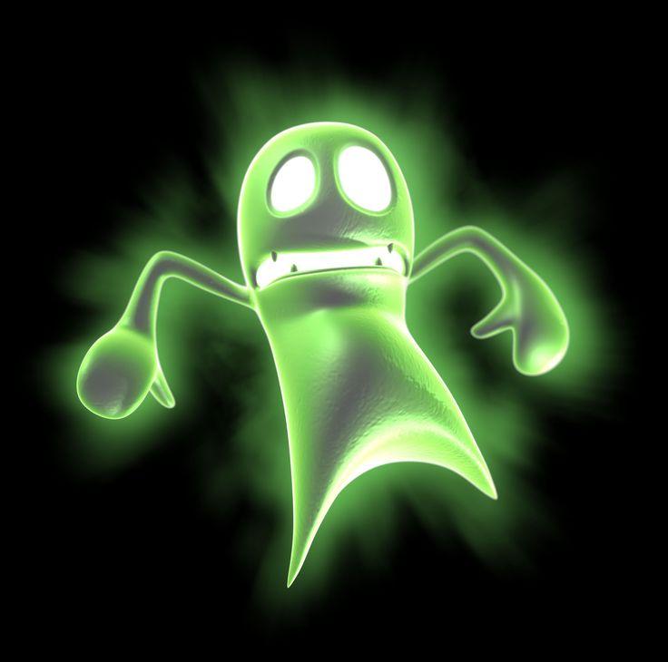 Luigi Mansion All Ghosts   Luigi's Mansion Dark Moon; Concept Art Round 3   Nintendo 3DS Daily