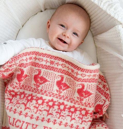 "Swedish ""Animals"" baby blanket"