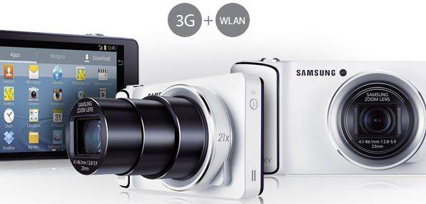 Samsung Galaxy Camera für 293€ inkl. 500MB UMTS-Flat oder 299€ ohne Vertrag - myDealZ.de