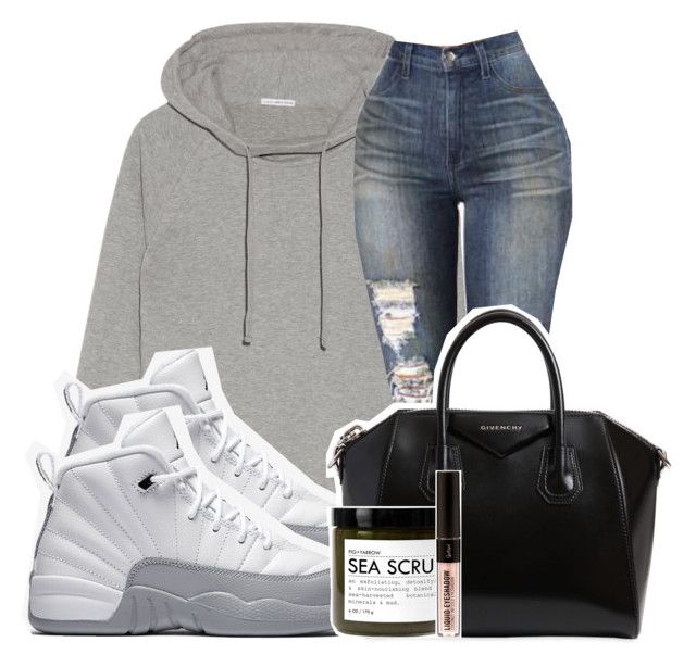 """Untitled #155"" by trillqueen34 ❤ liked on Polyvore featuring James Perse, NIKE, Givenchy and Fig+Yarrow"