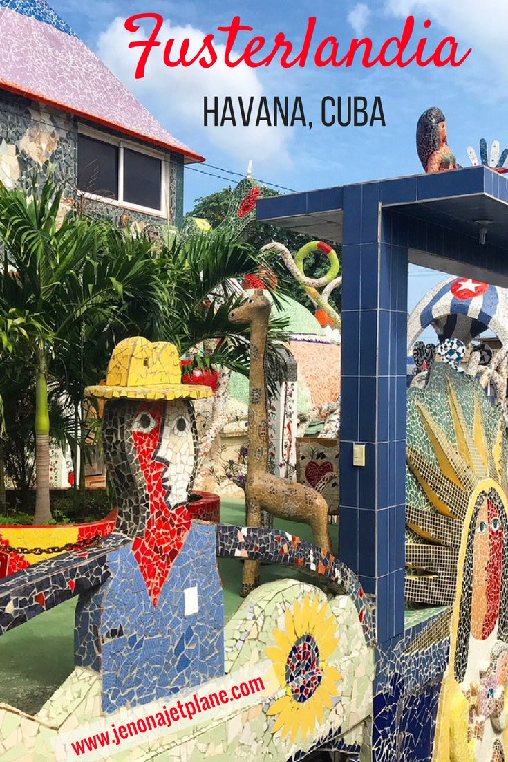 Fusterlandia in Havana, Cuba is a must-see for art lovers. Jose Fuster is considered the Gaudi of Cuba and makes incredible mosaic tile masterpieces. Don't leave Havana without stopping by this outdoor art gallery. Save to your travel board for inspiration!