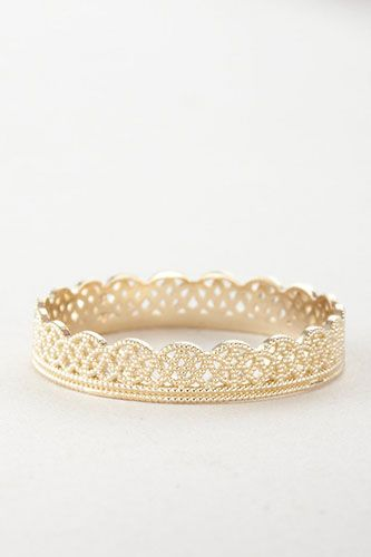 20 Gorgeous Wedding Bands For Every Type Of Bride  Gracie Lee Lace Band, $385, available at Steven Alan.