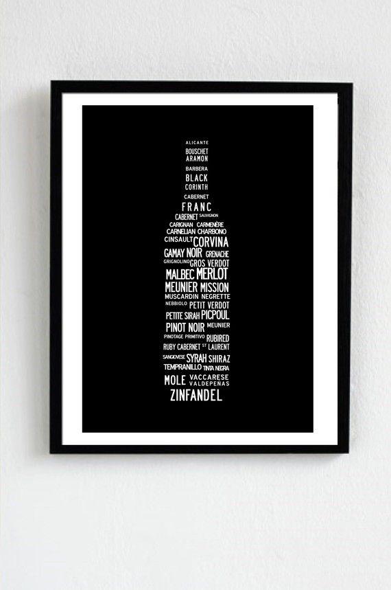 Pour tous les amateurs de vin rouges. Liste par ilovedesignlondon