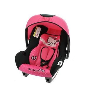 Siege-auto-bebe-Hello-Kitty-Groupe-0-de-0-a-13-kg-Fabrication-francaise