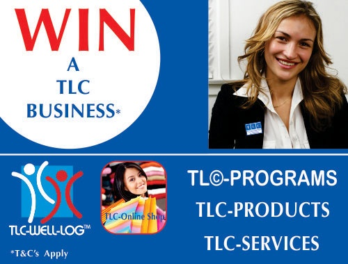 WIN A FREE BUSINESS www.tlcforwellbeing.com
