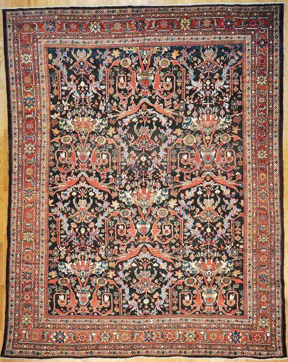 Mahal Persian Rug 10 8 X 13 7