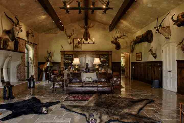 Trophy Room Design Ideas Part - 41: Italian Villa :: Wild Game Room | :: ITALIAN :: | Pinterest | Game Rooms,  Villas And Room