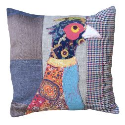 Carola van Dyke Pheasant Countryside Cushion - love this design but can't afford it at £75 !