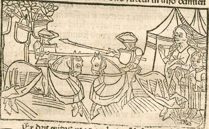 Eleonore <Österreich, Erzherzogin>: Pontus und Sidonia Augsburg, 1485 Ink E-47 - GW 12720 Folio 73