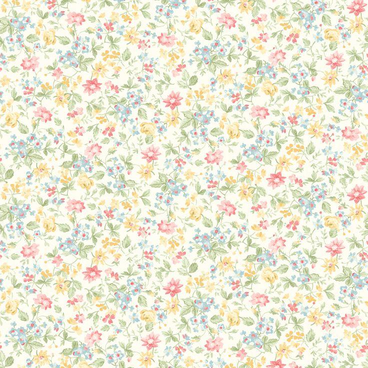 Brewster Home Fashions Springtime Cottage Dense Floral