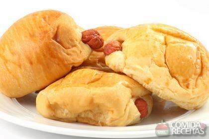 Receita de Pãezinhos de salsicha em receitas de paes e lanches, veja essa e outras receitas aqui!