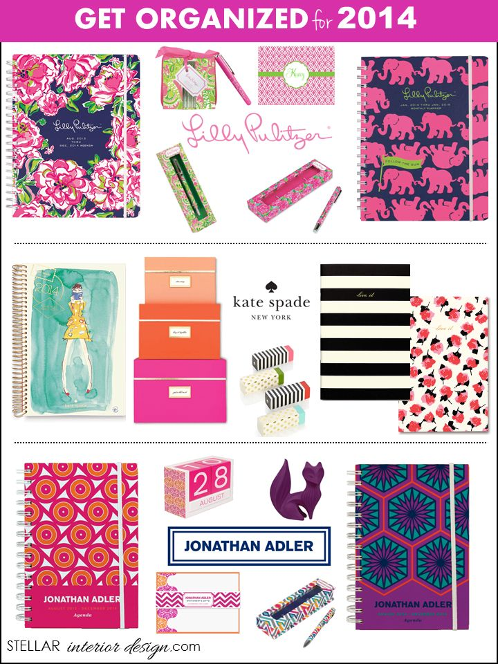 2014 Calendars Daily Planners Home Office Organization Interior Design Boards Online